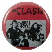 The Clash - 'Red China' Button Badge